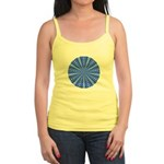 Blue Pattern 001 Jr. Spaghetti Tank