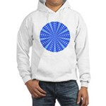 Blue Pattern 001 Hooded Sweatshirt