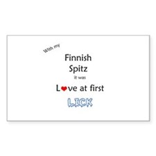 Spitz Lick Rectangle Decal