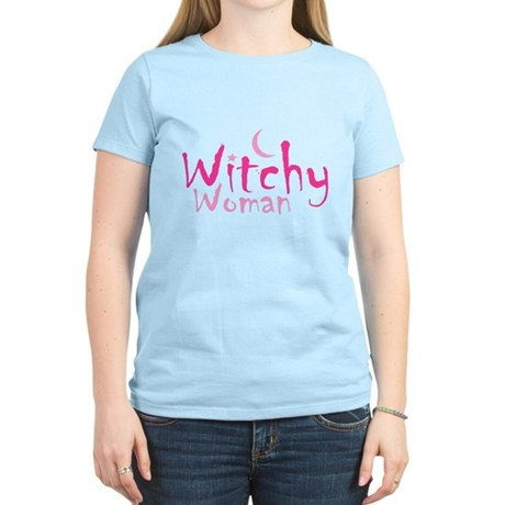 Witchy Woman Womens Light T-Shirt