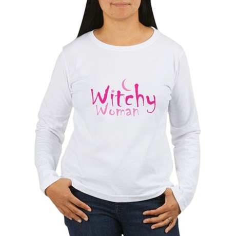 Witchy Woman Womens Long Sleeve T-Shirt