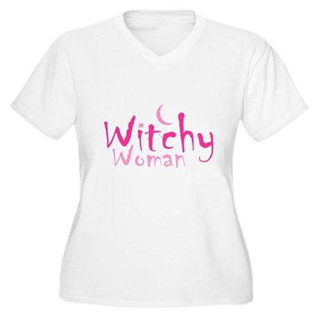 Witchy Woman Plus Size V-Neck Shirt