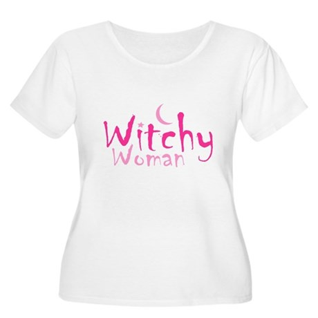 Witchy Woman Plus Size Scoop Neck Shirt