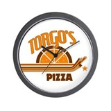 Torgo's Pizza Wall Clock