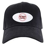 No Hablo Espanol - Red Circle Black Cap