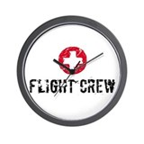 Flight Crew SM Wall Clock