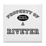 Property of a Riveter Tile Coaster