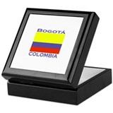 Bogata, Colombia Keepsake Box