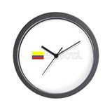 Bogata, Colombia Wall Clock