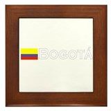 Bogata, Colombia Framed Tile