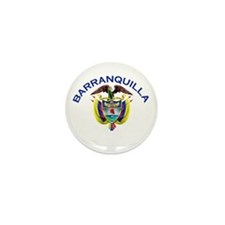 Barranquilla, Colombia Mini Button (10 pack)