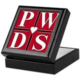 Heart of PWDs Keepsake Box