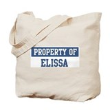 Property of ELISSA Tote Bag