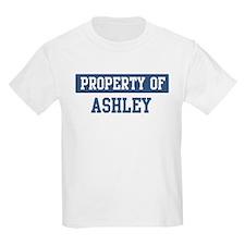 Property of ASHLEY T-Shirt