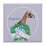 Toggenburg Goat 2 Tile Coaster
