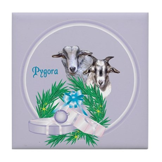 Pygora Goats Tile Coaster