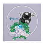 Pygora Goat Tile Coaster