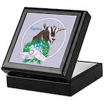 Toggenburg Goat Tawny Keepsake Box
