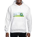 Recycle Wide Hooded Sweatshirt