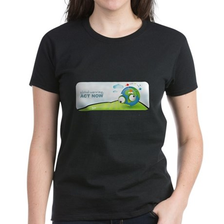 Recycle Wide Women's Dark T-Shirt