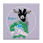 Pygora Goat Gina Tile Coaster