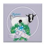Myotonic Goat Rufus Tile Coaster