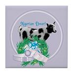 Nigerian Dwarf Goat 2 Tile Coaster
