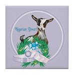 Nigerian Dwarf Goat 1 Tile Coaster