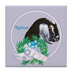 Nubian Goat Doe 2 Tile Coaster