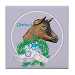 Oberhasli Goat Doe Tile Coaster