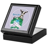 Nigerian Dwarf Goat 1 Keepsake Box