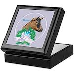 Oberhasli Goat Doe Keepsake Box