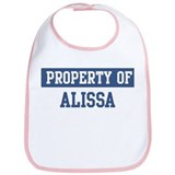 Property of ALISSA Bib