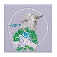 Angora Goat Sabrina Tile Coaster