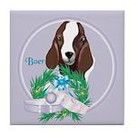 Boer Goat Tile Coaster
