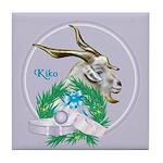 Kiko Goat Bonzo Tile Coaster