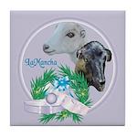 LaMancha Goats Tile Coaster