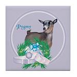 Pygmy Goat Bessie Tile Coaster