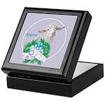 Angora Goat Sabrina Keepsake Box