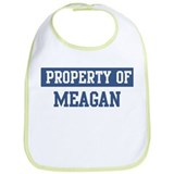 Property of MEAGAN Bib