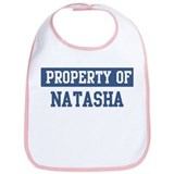 Property of NATASHA Bib