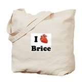 I (Heart) Brice Tote Bag