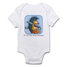 It's Not Easy Being Beautiful Infant Bodysuit