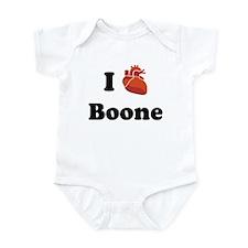 I (Heart) Boone Onesie