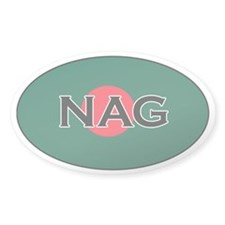 Bangladeshi Decals Oval Decal