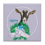 Alpine Goat Annabelle Tile Coaster