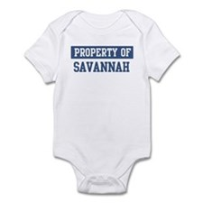 Property of SAVANNAH Infant Bodysuit