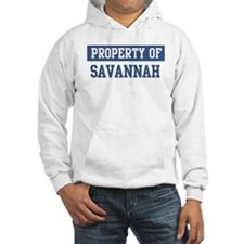 Property of SAVANNAH Hoodie