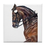 Dressage Horse Tile Coaster