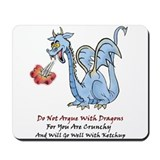 Dragon Ketchup Mousepad